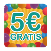 5€ gratis para todos