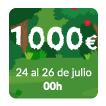 ¡¡1.000€ de bingo mínimo garantizado en bingo 90!!